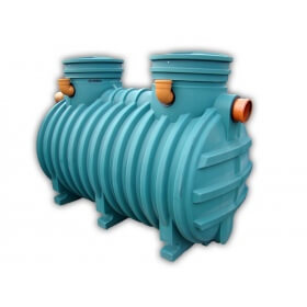 SINGLE CHAMBER SEPTIC TANK WITH FILTER