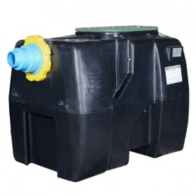 FUEL SUBSTANCES SEPARATOR WITH DESILTER OIL-SI