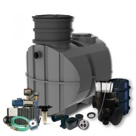 PREMIUM HOME AND GARDEN SET WITH ECOLINE II TANK