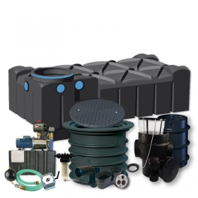 PREMIUM HOME AND GARDEN SET WITH F-LINE TANK