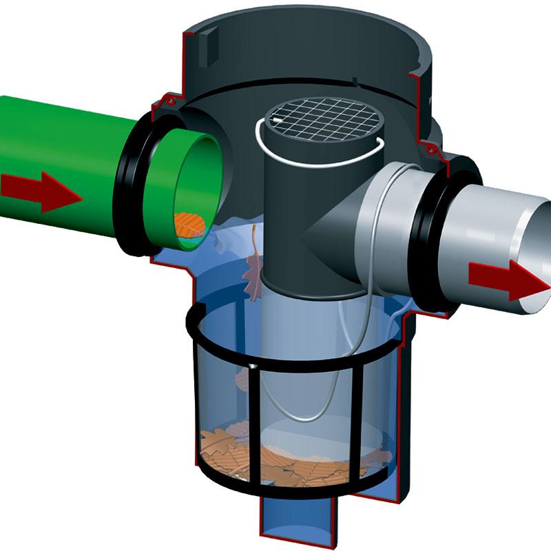 iltr maxi plus rewatec stosowany w systemach zagospodarowania wody deszczowej