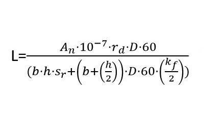Wzór na obliczanie ilości skrzynek rozsaczajacych
