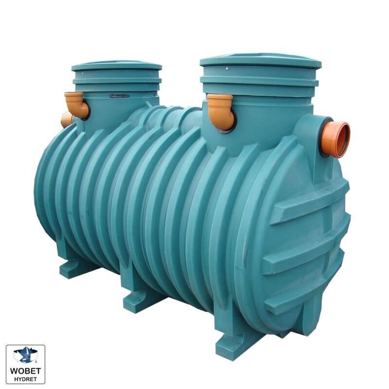 Zbiornik bezodpływowy wobet hydret